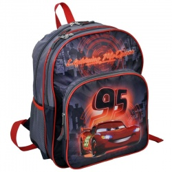 Školní batoh dvoukomorový cars - Auta