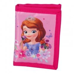 Dětská textilní peněženka růžová Sofie první