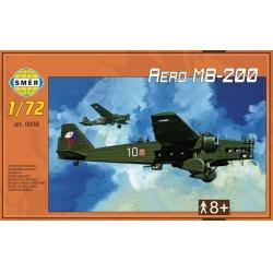 Aero MB-200 1:72 Směr plastikový model letadla ke slepení