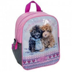 Dětský batoh malý růžový Pejsci