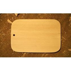 Kuchyňské prkénko oblé 26,5x17,5 cm
