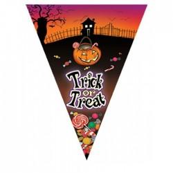 Girlanda vlajková - Halloween 5m