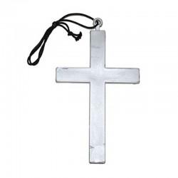 Kříž stříbrný 23cm