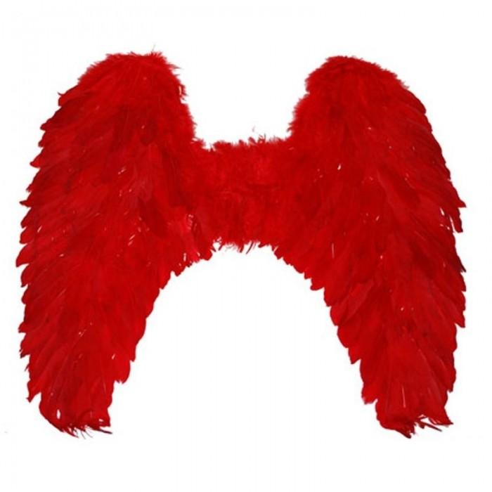 Křídla červená - velká