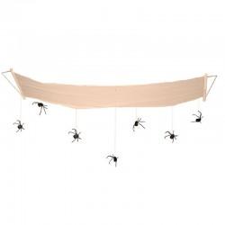 Pavučina s pavouky 310cm