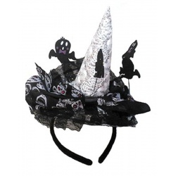 Klobouk čarodějnice - na čelence