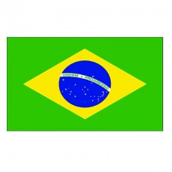 Vlajka Brazílie 150 x 90 cm