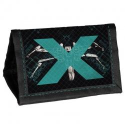 Dětská textilní peněženka Star Wars Hvězdné války X-wing