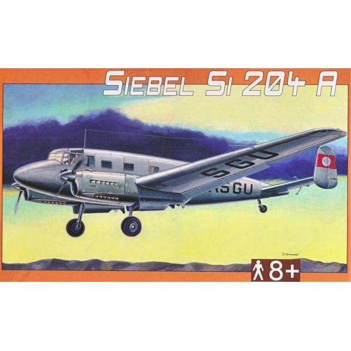 Siebel Si 204 A 1:72 Směr plastikový model letadla ke slepení