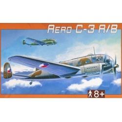 Aero C-3 A-B 1:72 Směr plastikový model letadla ke slepení