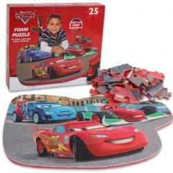 Pěnové puzzle podložka na hraní Cars Auta