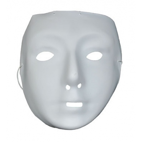 Maska k domalování bílá