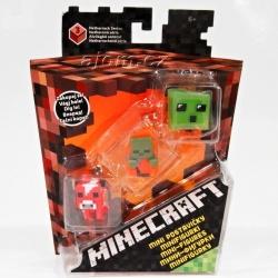 Minecraft sada - 3 postavičky