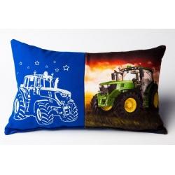 Svítící polštářek - Traktor - větší