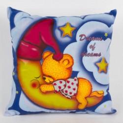 Svítící polštářek - Medvídek, Dreams of dreams - modrý