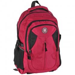 Školní batoh 3 komorový - růžový