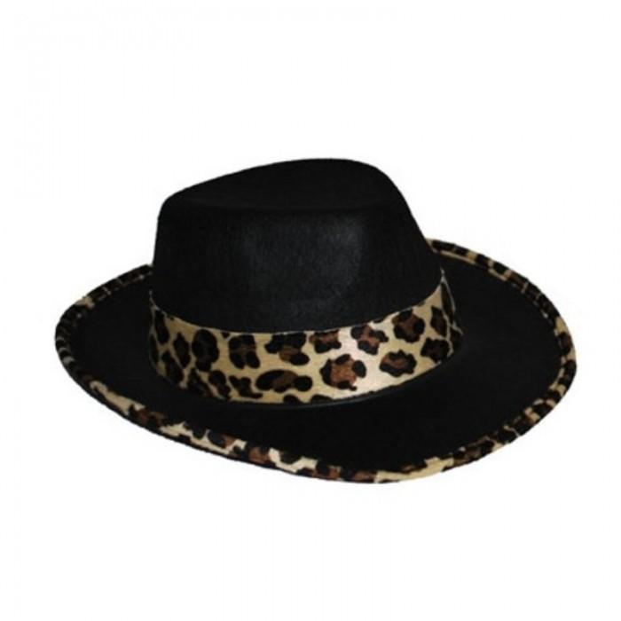 Klobouk černý - gepard