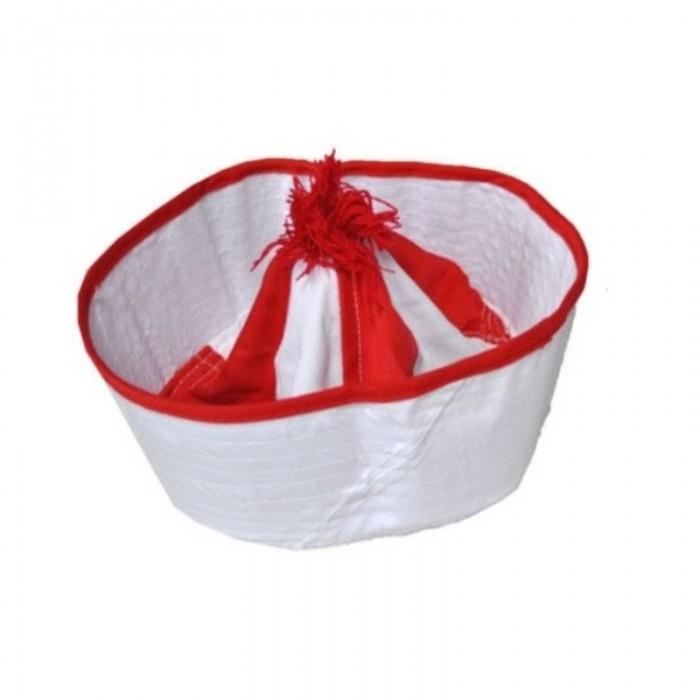 Námořnická čepice - červená