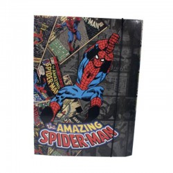 Desky s gumou na sešity - Spiderman