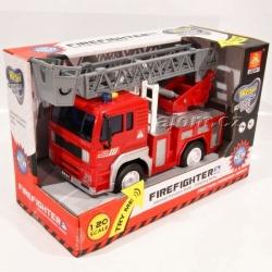 Auto hasiči se světlem a zvukem 18cm