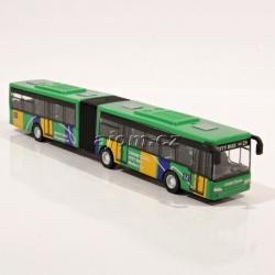 Autobus kovový - zelený