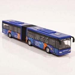 Autobus kovový - modrý