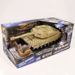 Tank model 1:32 - se světlem a zvukem
