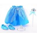 Sada pro princeznu - sukně a doplňky