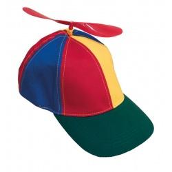 Čepice s vrtulkou textilní