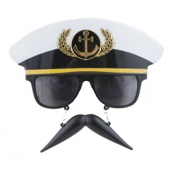 Brýle s knírkem - kapitán