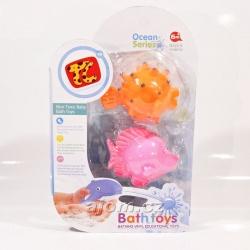 Hračka do vody - rybičky oranžová a růžová