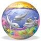 Dětský míč Delfíni, piráti 23 cm