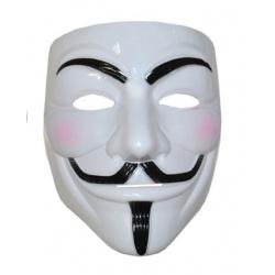 Maska - Anonymous Vendeta - bílá