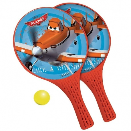 Pálky a míček plážový tenis Letadla Planes