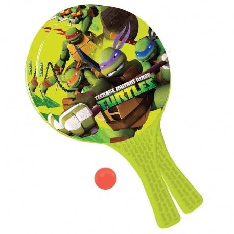 Pálky a míček plážový tenis Turtles Želvy Ninja