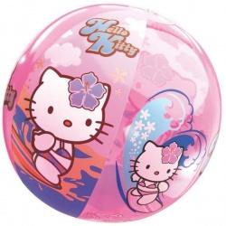Nafukovací plážový míč Hello Kitty 50cm