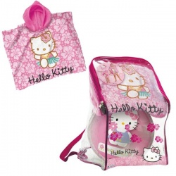 Poncho set Hello Kitty
