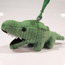 Plyšový přívěšek - klíčenka Krokodýl