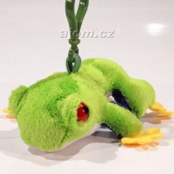 Plyšový přívěšek - klíčenka Žába