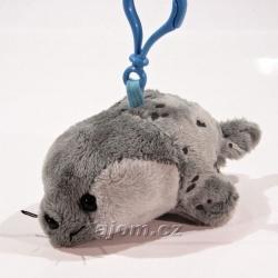 Plyšový přívěšek - klíčenka Tuleň