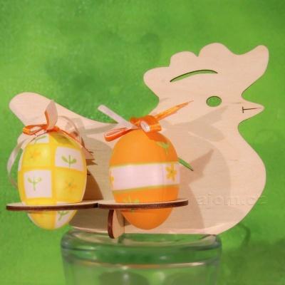 Velikonoční stojánek na vajíčka - Slepička