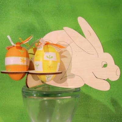Velikonoční stojánek na vajíčka – zajíček