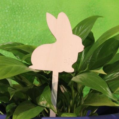 Velikonoční dekorace - zápich - zajíček