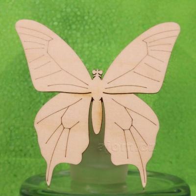 Dřevěná dekorace - Motýl