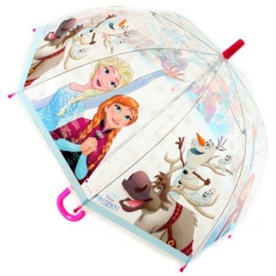 Deštník průhledný Frozen - Ledové království