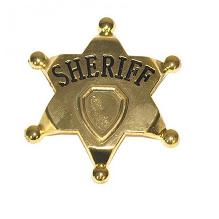 Hvězda Šerif kovová