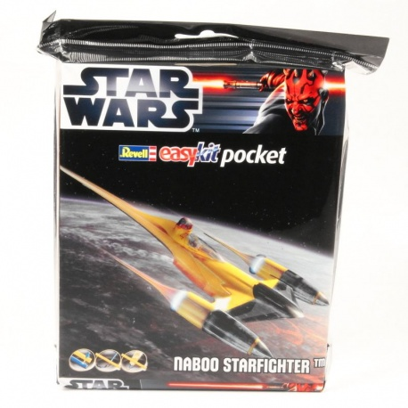 Model Naboo Starfighter Revell EasyKit pocket Star Wars - 1:109