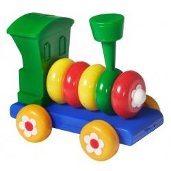 Lokomotiva - skládací