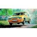 Škoda Favorit Rallye 96 1:28 Směr plastikový kliklak model auta