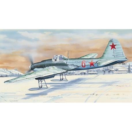 Iljušin IL - 2 1:72 Směr plastikový model letadla ke slepení
